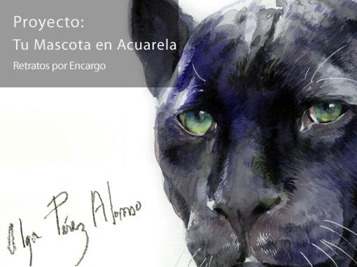 Tu Mascota en Acuarela