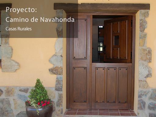 Casas Camino de Navahonda